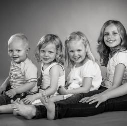 Børn . Johansen foto
