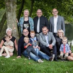 Gruppe-portræt,  Johansenfoto